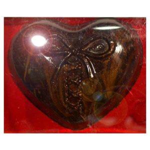 """Шоколадная фигурка """"Сердце с бантиком"""""""